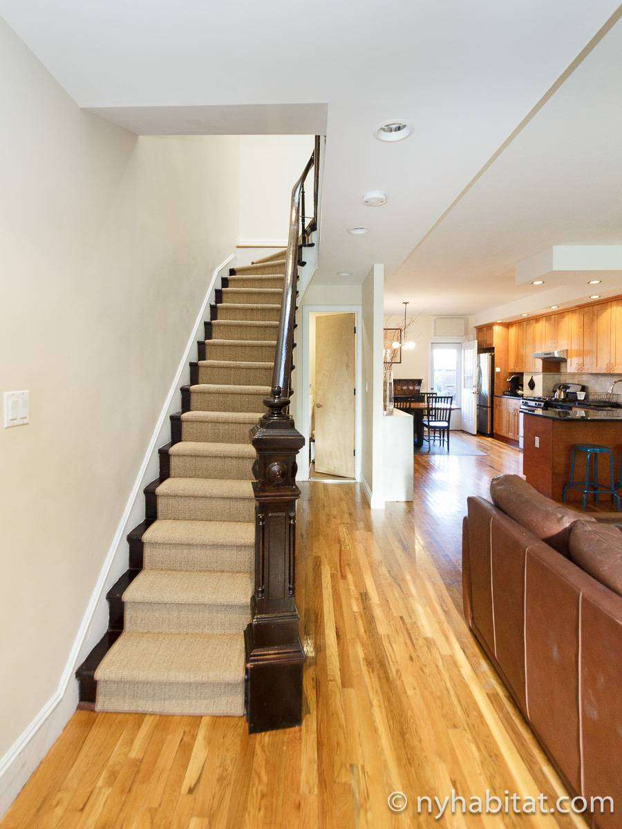 New York Apartment 3 Bedroom Duplex Apartment Rental In Park Slope NY 17031