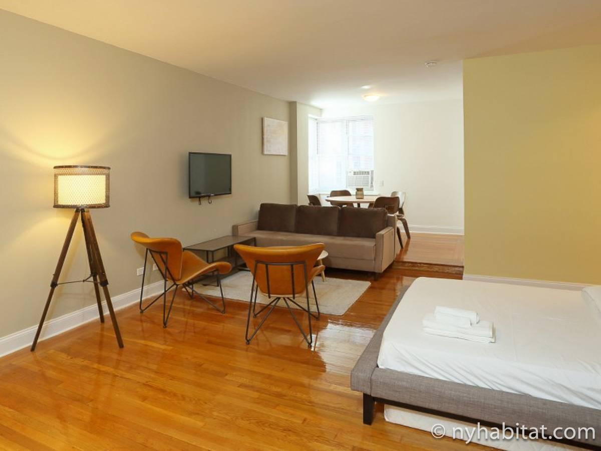 ... New York Studio apartment - living room (NY-17060) photo 2 of 10 ...
