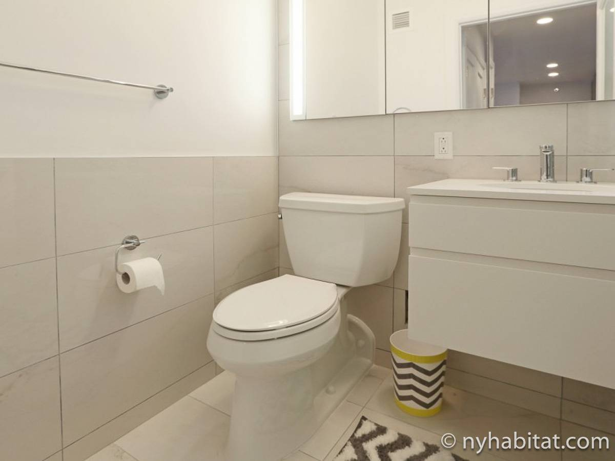 Studio Apartment Bathroom new york apartment: studio apartment rental in midtown west (ny-17062)