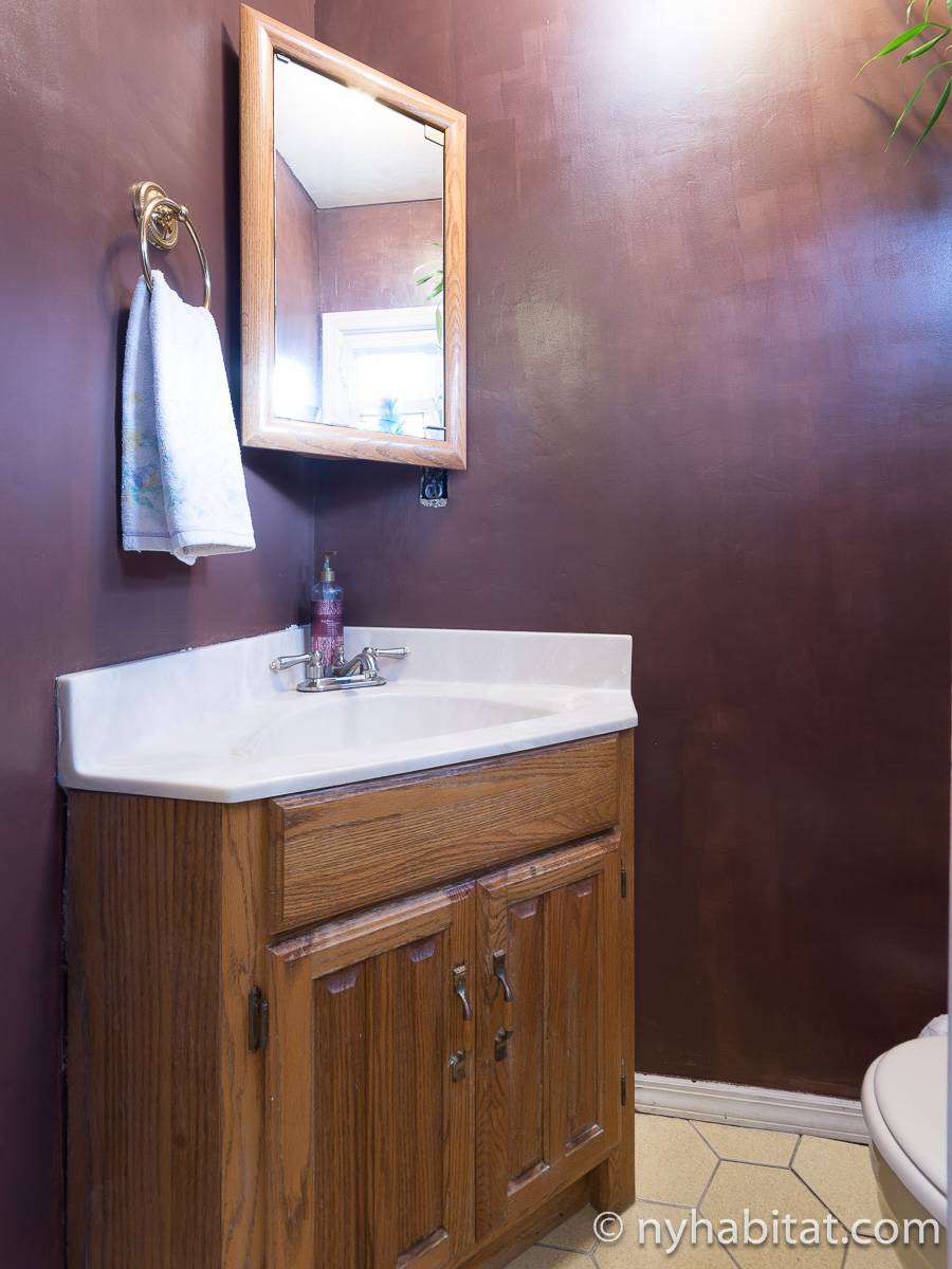 New York 2 Bedroom roommate share apartment - bathroom 2 (NY-17081) photo 1 of 2