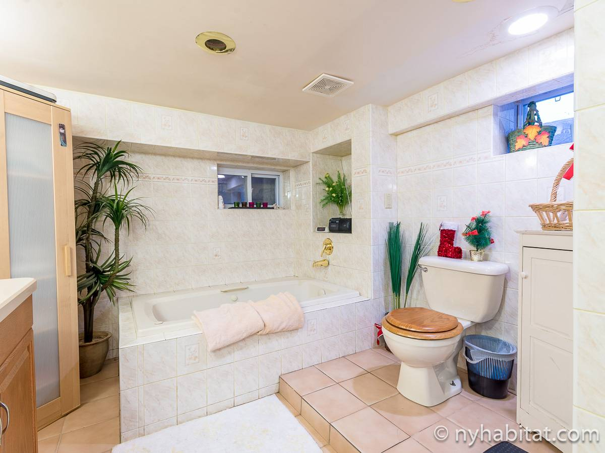 New York 2 Bedroom roommate share apartment - bathroom 1 (NY-17081) photo 1 of 6