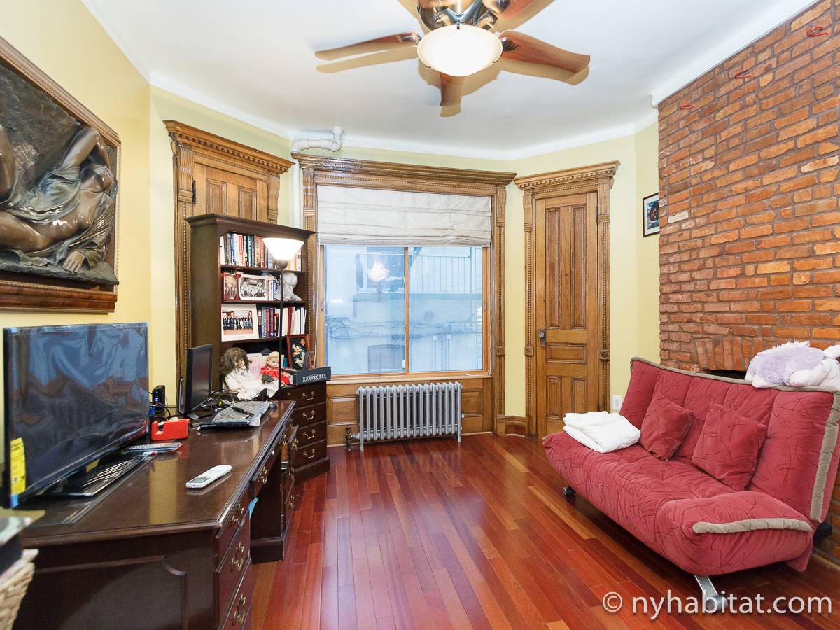New York T5 appartement colocation - séjour (NY-17082) photo 3 sur 8