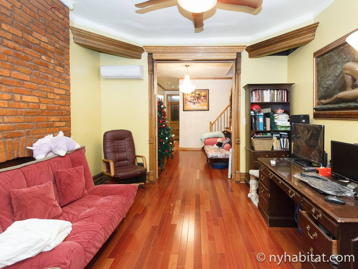 New York T5 appartement colocation - séjour (NY-17082) photo 5 sur 8