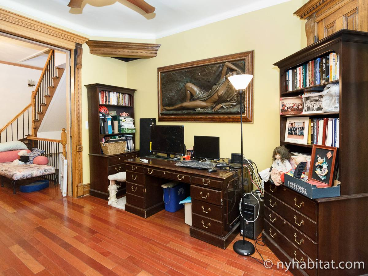 New York T5 appartement colocation - séjour (NY-17082) photo 6 sur 8