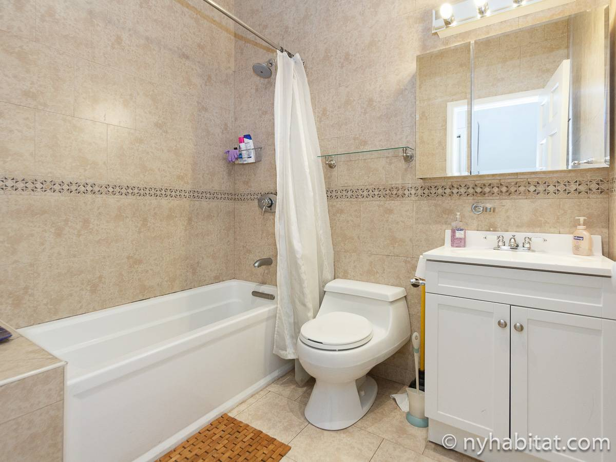 New York T5 appartement colocation - salle de bain 1 (NY-17082) photo 1 sur 1