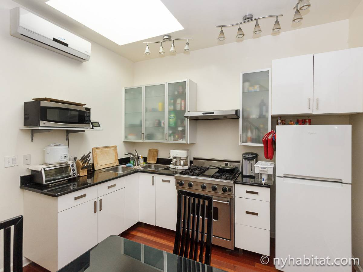 New York T5 appartement colocation - cuisine (NY-17082) photo 2 sur 4
