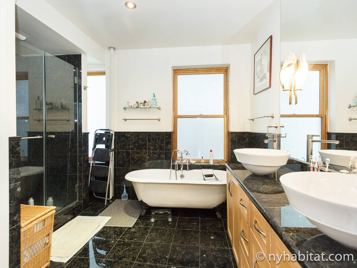 New York T5 appartement colocation - salle de bain 2 (NY-17082) photo 1 sur 5
