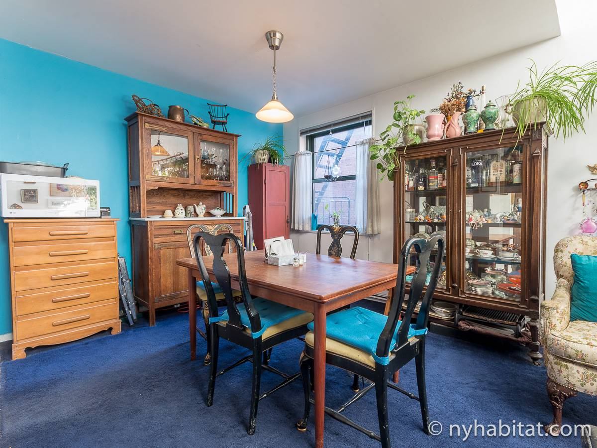 New York 3 Bedroom - Duplex roommate share apartment - living room (NY-17088) photo 10 of 12