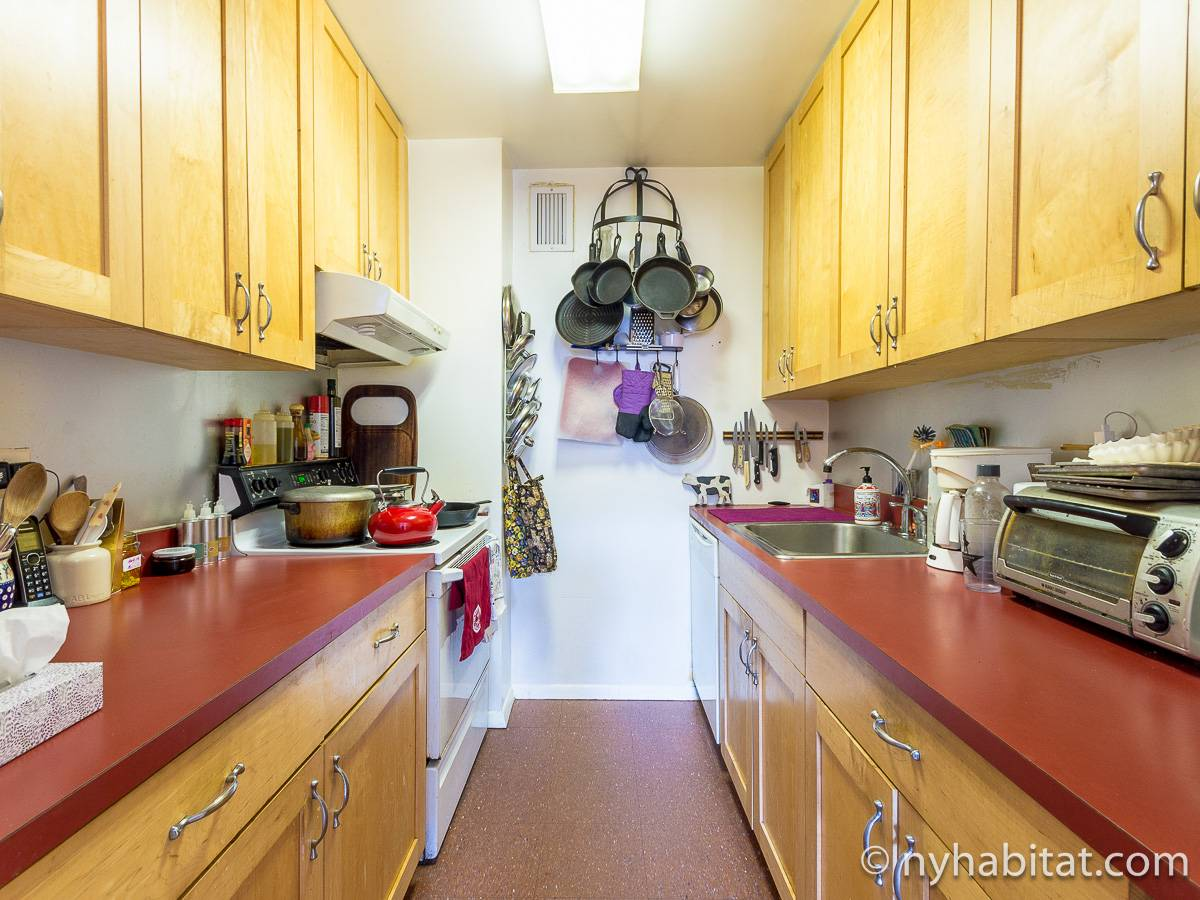New York 3 Bedroom - Duplex roommate share apartment - kitchen (NY-17088) photo 1 of 4