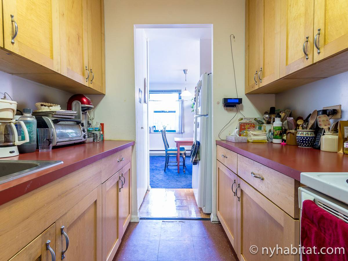 New York 3 Bedroom - Duplex roommate share apartment - kitchen (NY-17088) photo 2 of 4
