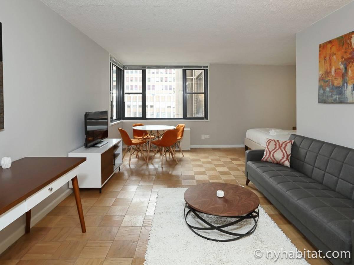 studio apartment living.  New York Studio apartment living room NY 17107 photo 6 of 10 Apartment Rental in Midtown East