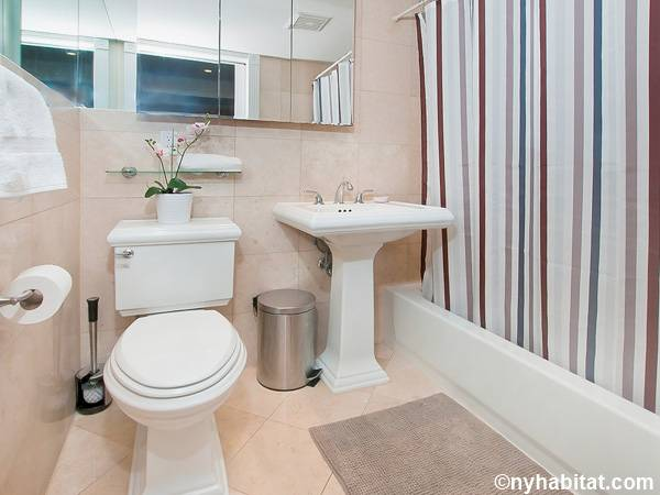 New York 3 Bedroom - Duplex roommate share apartment - bathroom 1 (NY-17116) photo 1 of 2