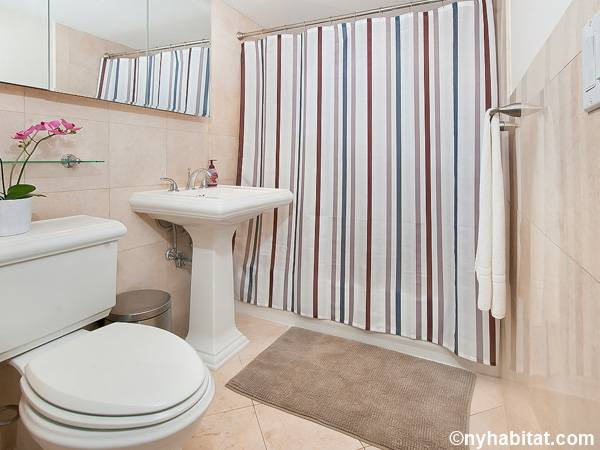 New York 3 Bedroom - Duplex roommate share apartment - bathroom 2 (NY-17116) photo 1 of 2