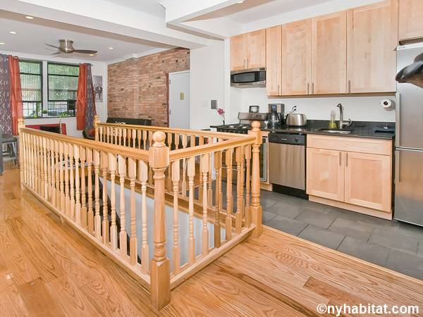 New York 3 Bedroom - Duplex roommate share apartment - kitchen (NY-17116) photo 3 of 4