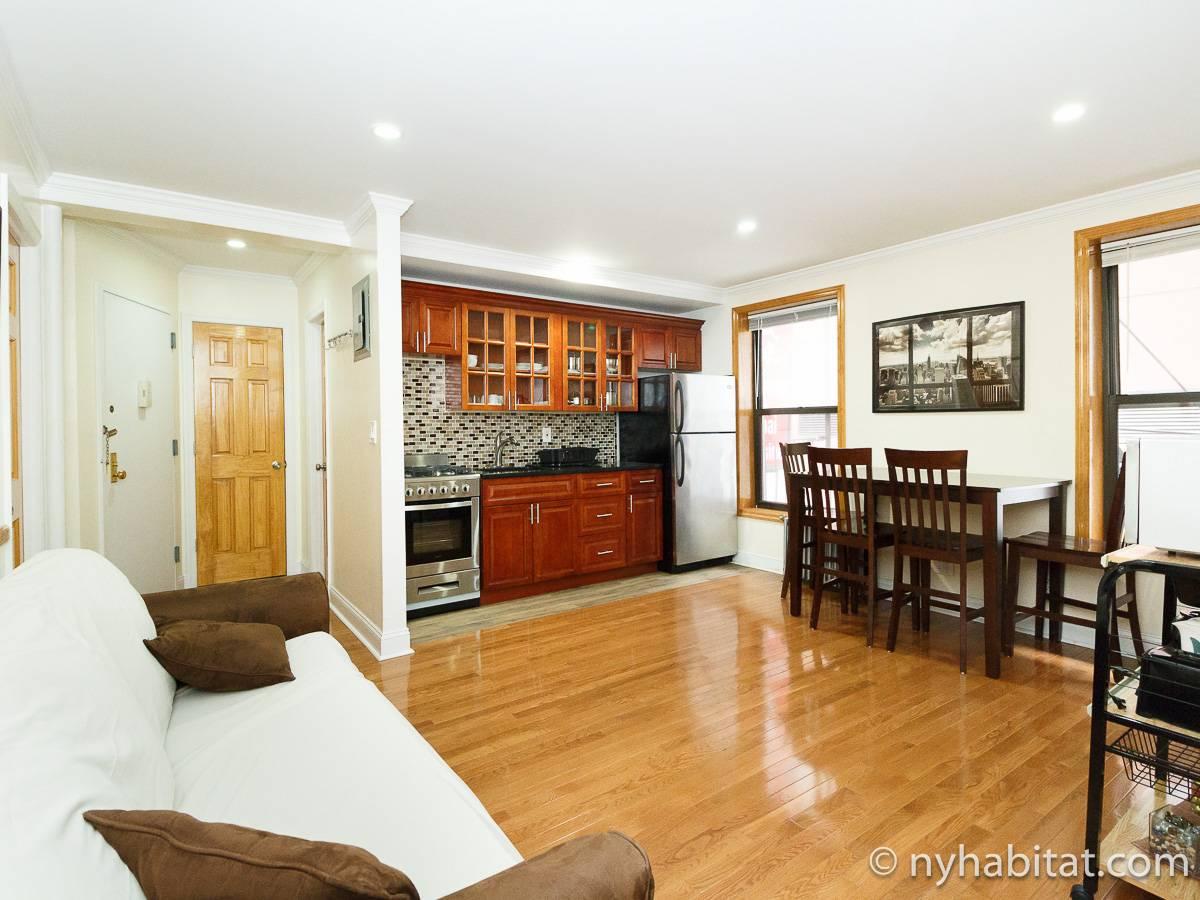 Wohnungsvermietung in New York - Studiowohnung - Midtown West (NY-12543)