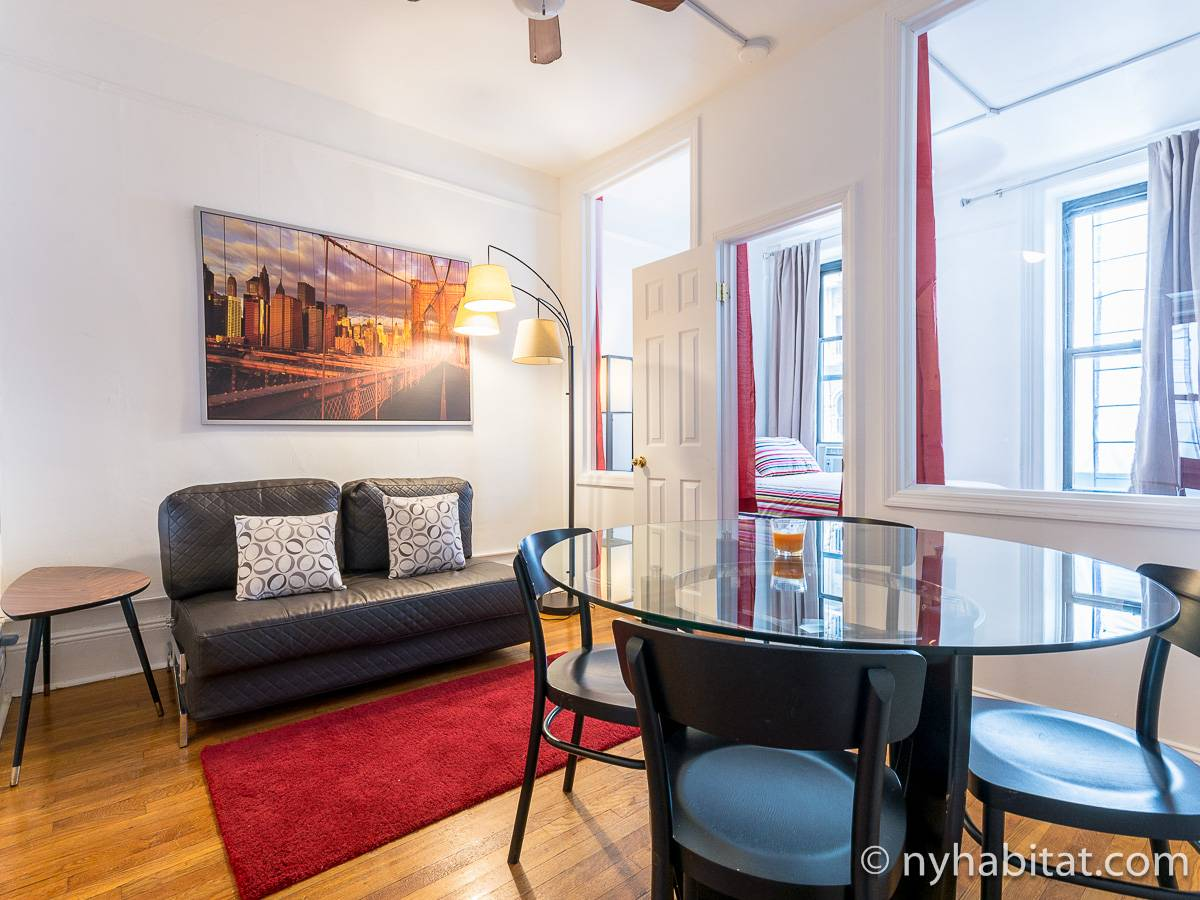 New York 2 Bedroom apartment - living room (NY-17168) photo 1 of 4