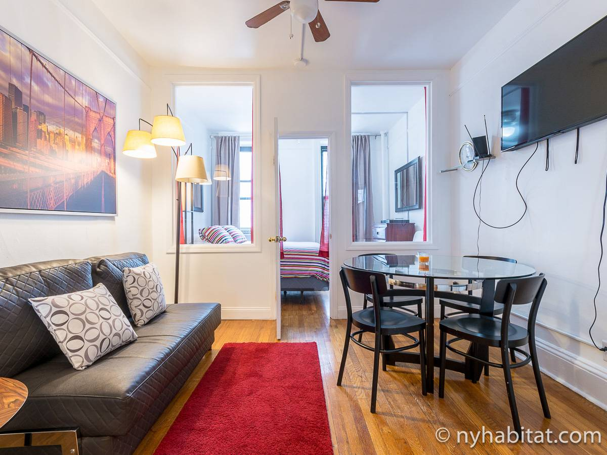New York 2 Bedroom apartment - living room (NY-17168) photo 2 of 4