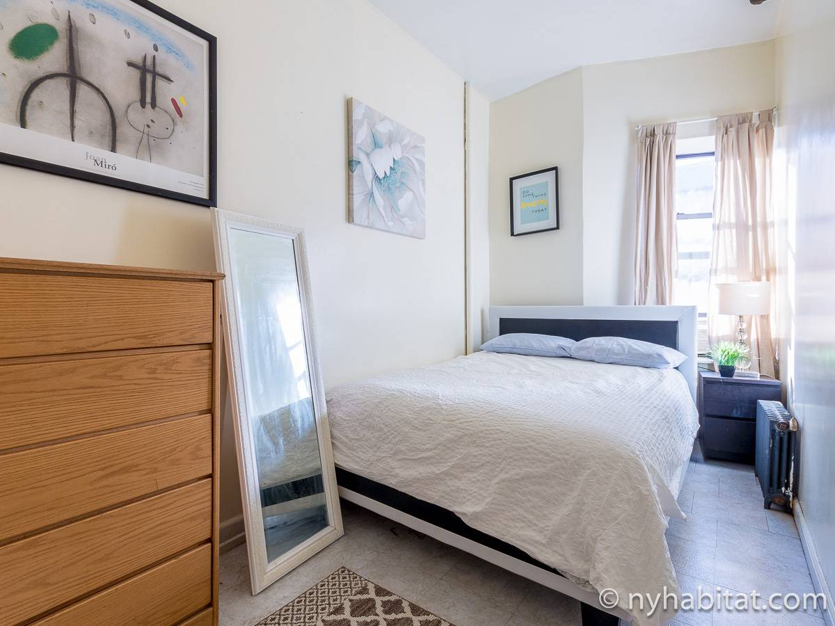 New York 2 Bedroom apartment - bedroom 2 (NY-17198) photo 1 of 4