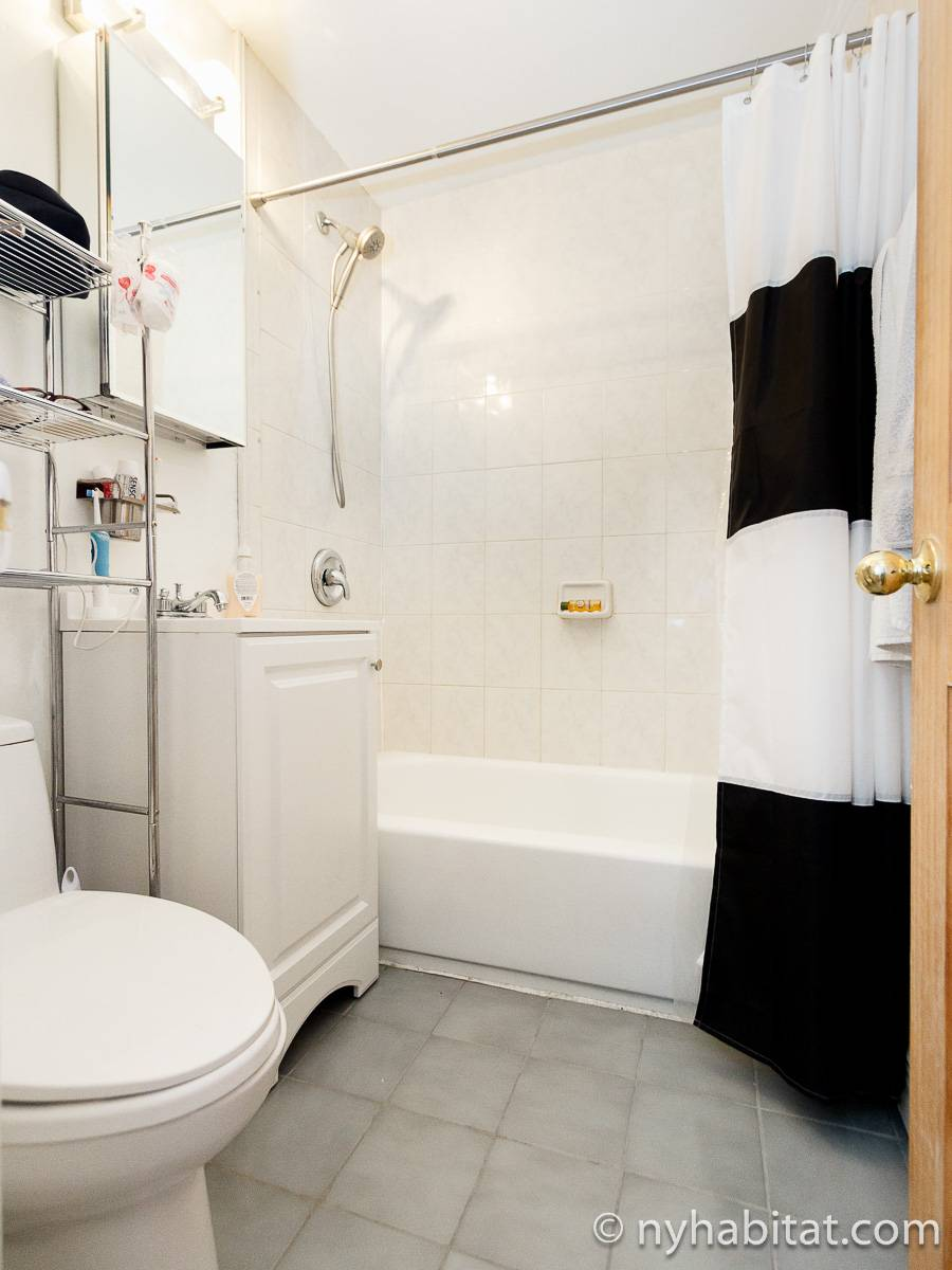 New York 1 Bedroom apartment - bathroom (NY-17211) photo 1 of 2