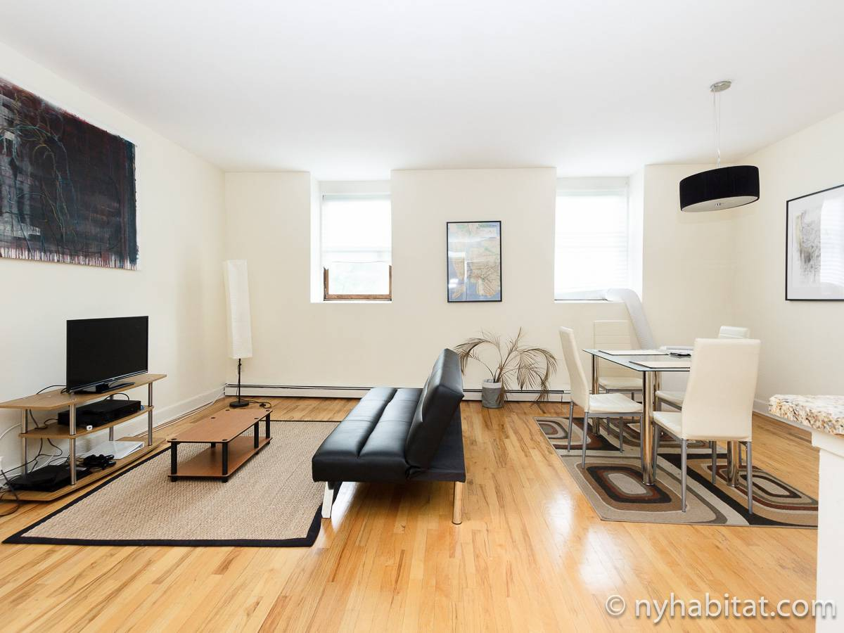 New York 1 Bedroom apartment - living room (NY-17211) photo 1 of 6