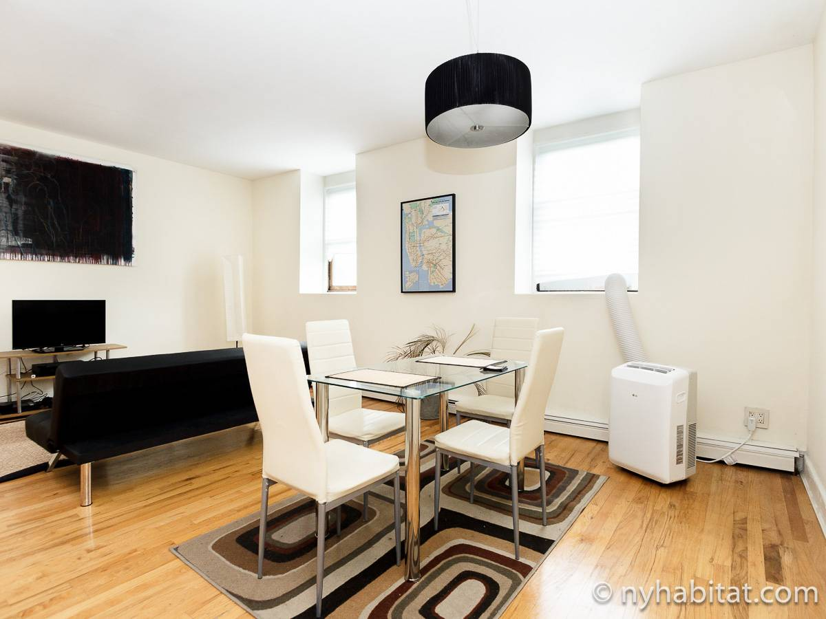 New York 1 Bedroom apartment - living room (NY-17211) photo 4 of 6