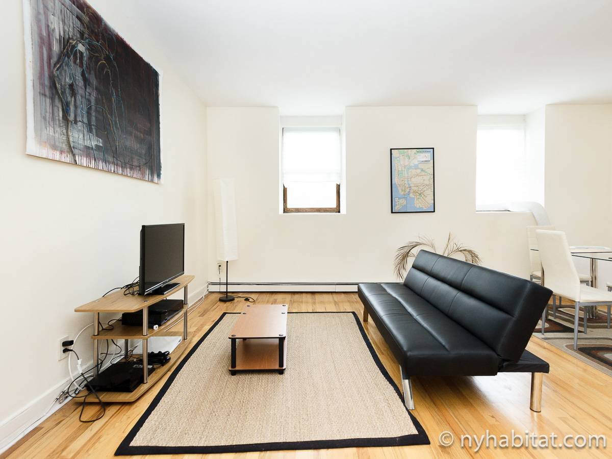 New York 1 Bedroom apartment - living room (NY-17211) photo 2 of 6