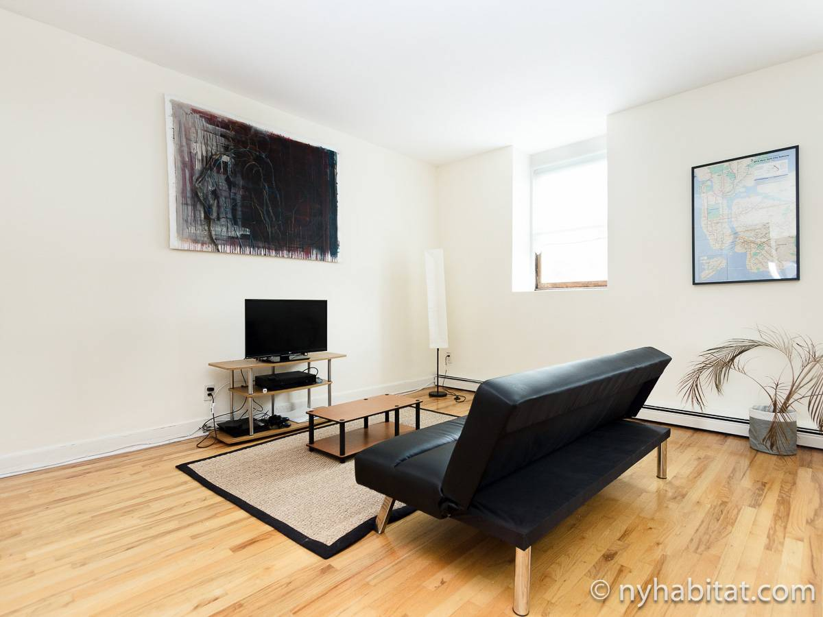 New York 1 Bedroom apartment - living room (NY-17211) photo 3 of 6