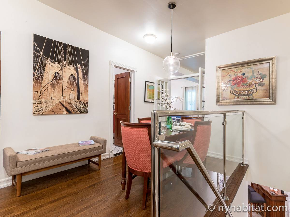 New York 1 Bedroom - Duplex accommodation - living room 1 (NY-17228) photo 9 of 10