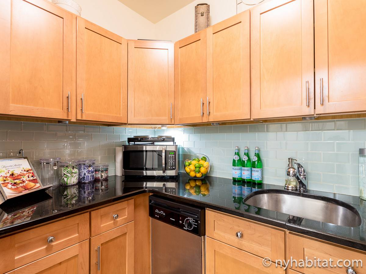 New York 1 Bedroom - Duplex accommodation - kitchen (NY-17228) photo 3 of 4