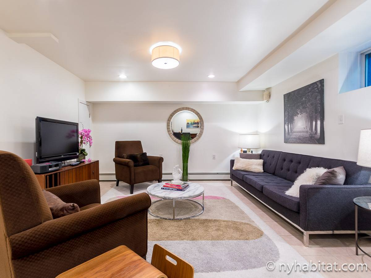 New York 1 Bedroom - Duplex accommodation - living room 2 (NY-17228) photo 2 of 6