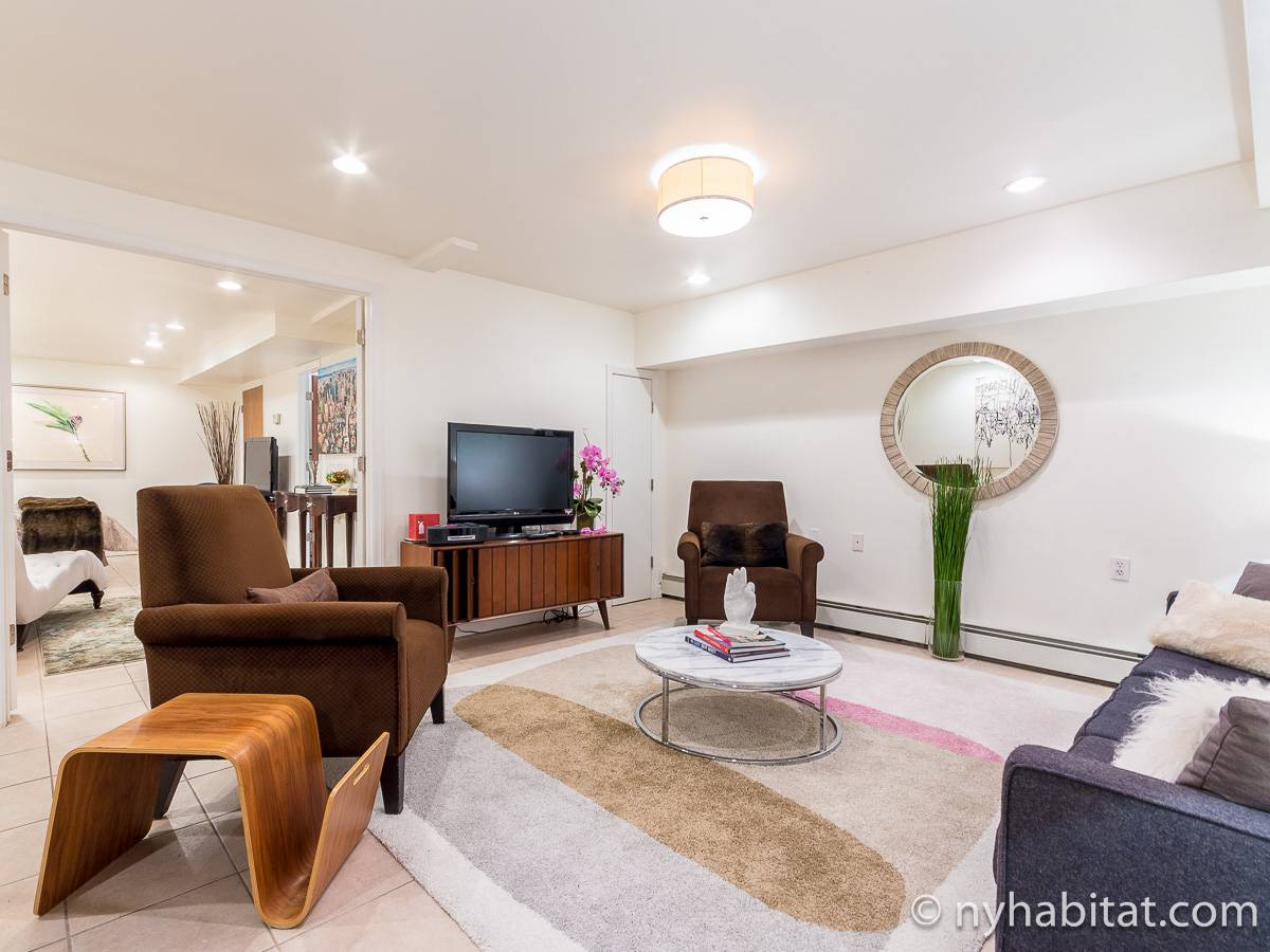 New York 1 Bedroom - Duplex accommodation - living room 2 (NY-17228) photo 5 of 6