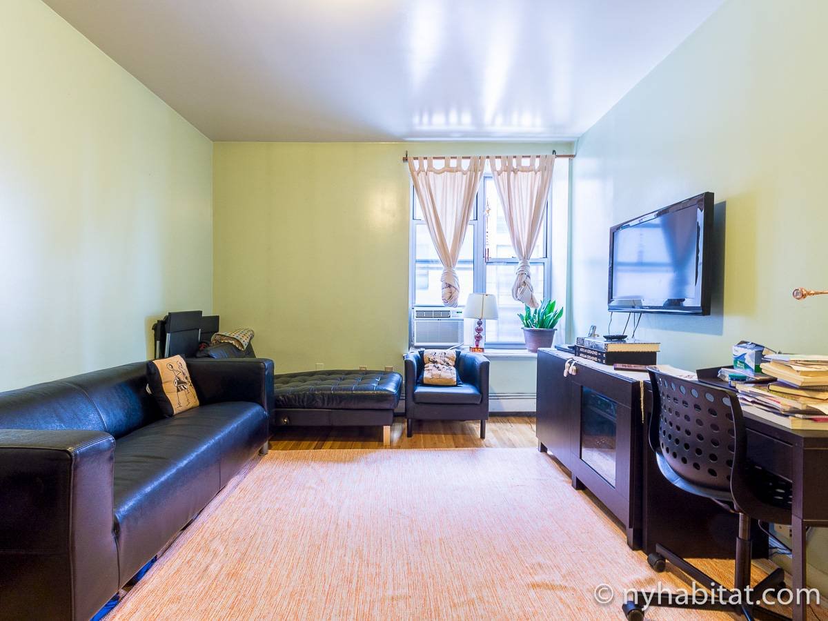 New York T3 appartement colocation - séjour (NY-17232) photo 2 sur 6