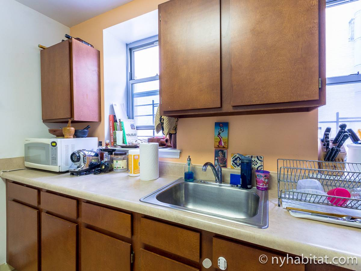 New York T3 appartement colocation - cuisine (NY-17232) photo 2 sur 4