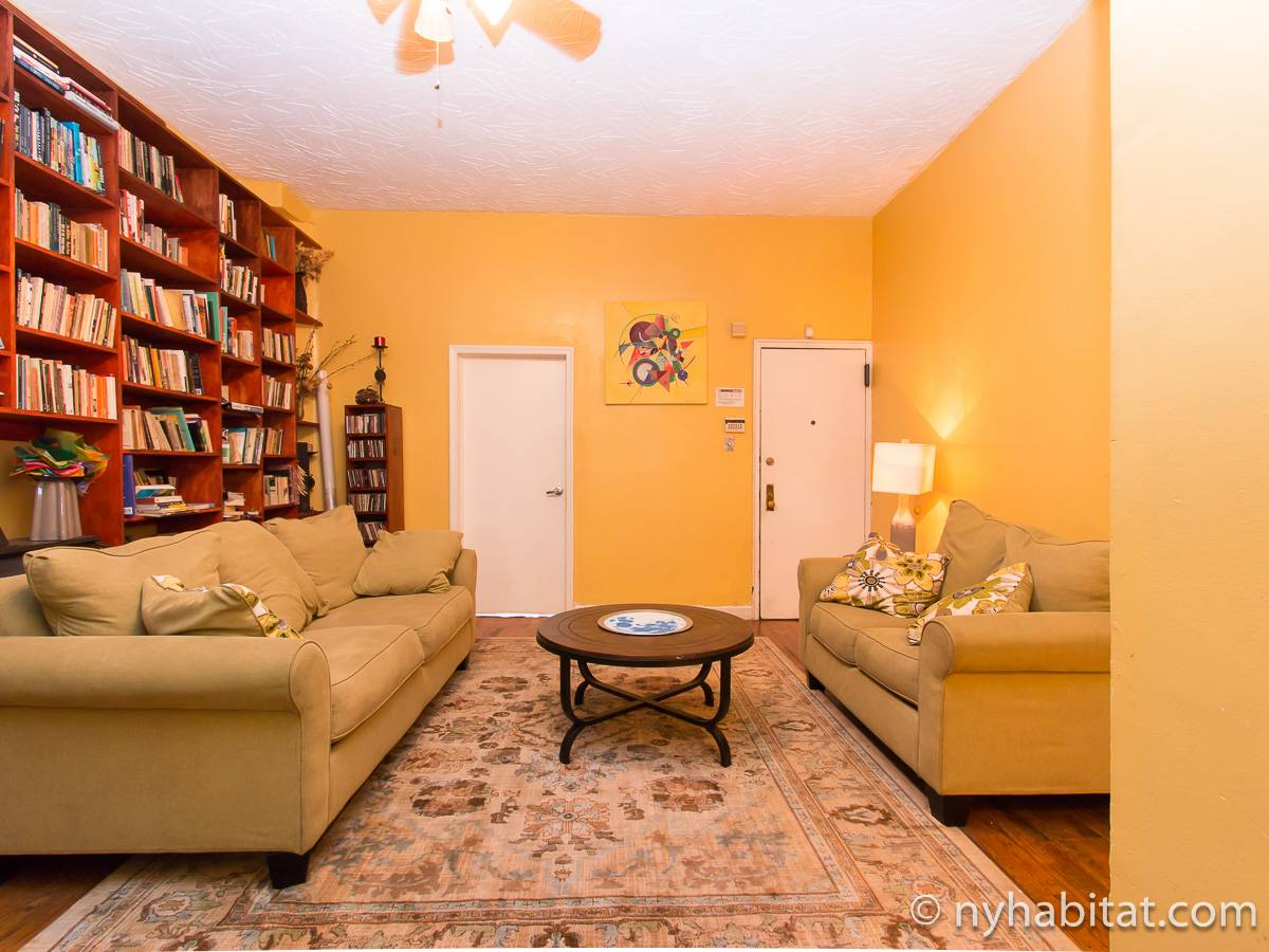 New York 2 Bedroom roommate share apartment - living room (NY-17267) photo 2 of 4