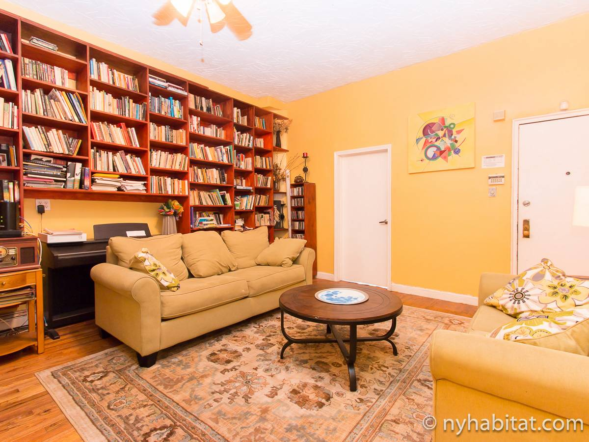 New York 2 Bedroom roommate share apartment - living room (NY-17267) photo 1 of 4
