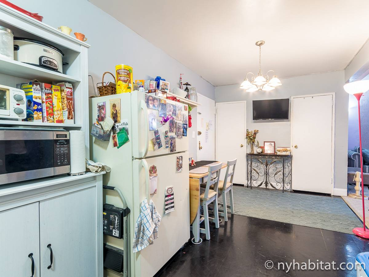 New York 2 Bedroom roommate share apartment - kitchen (NY-17274) photo 1 of 2