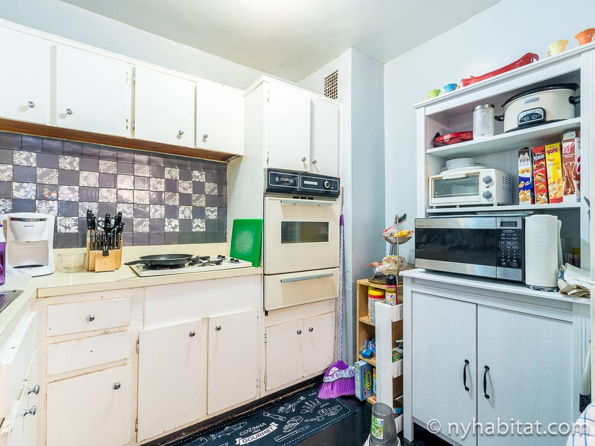 New York 2 Bedroom roommate share apartment - kitchen (NY-17274) photo 2 of 2