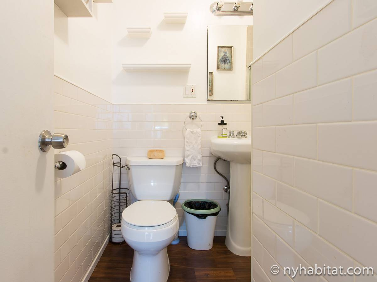 New York 2 Bedroom roommate share apartment - bathroom (NY-17277) photo 4 of 4