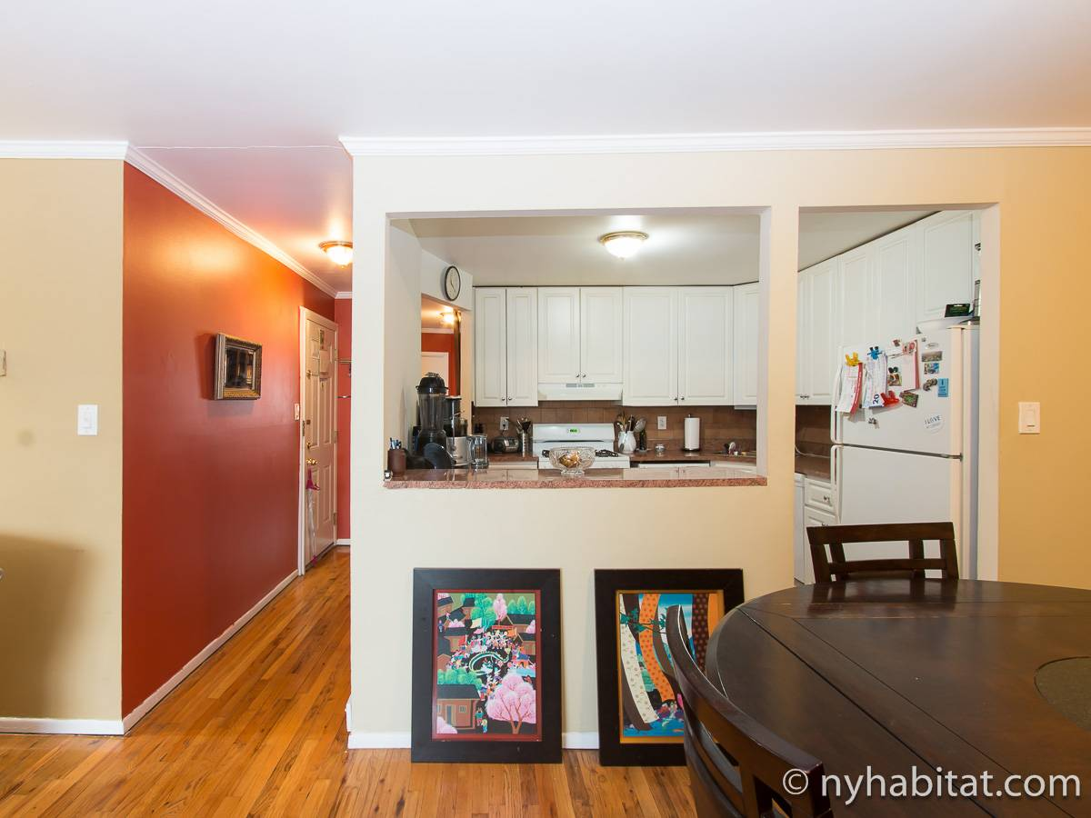 New York 2 Bedroom roommate share apartment - kitchen (NY-17277) photo 2 of 3