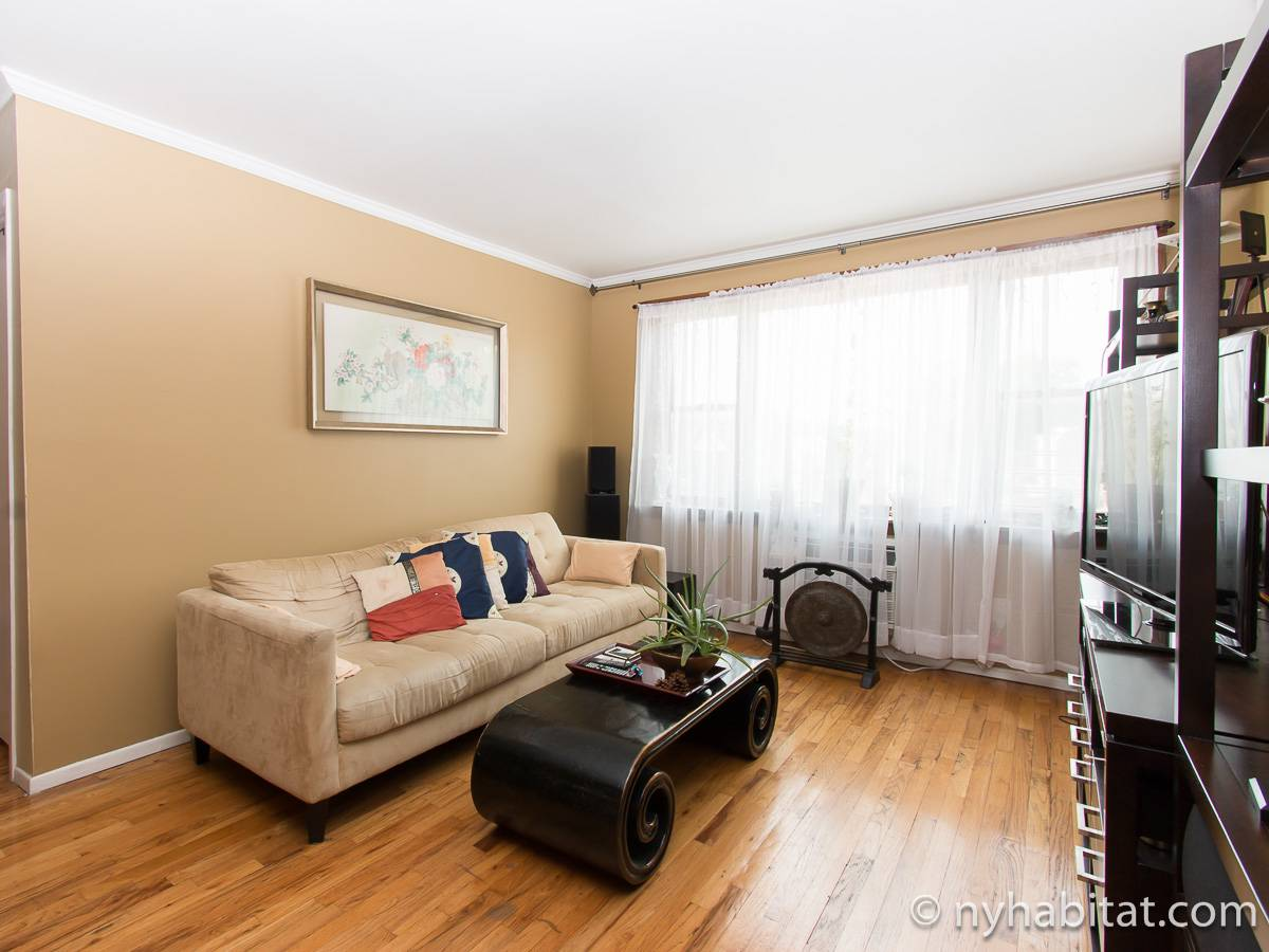 New York 2 Bedroom roommate share apartment - living room (NY-17277) photo 1 of 6