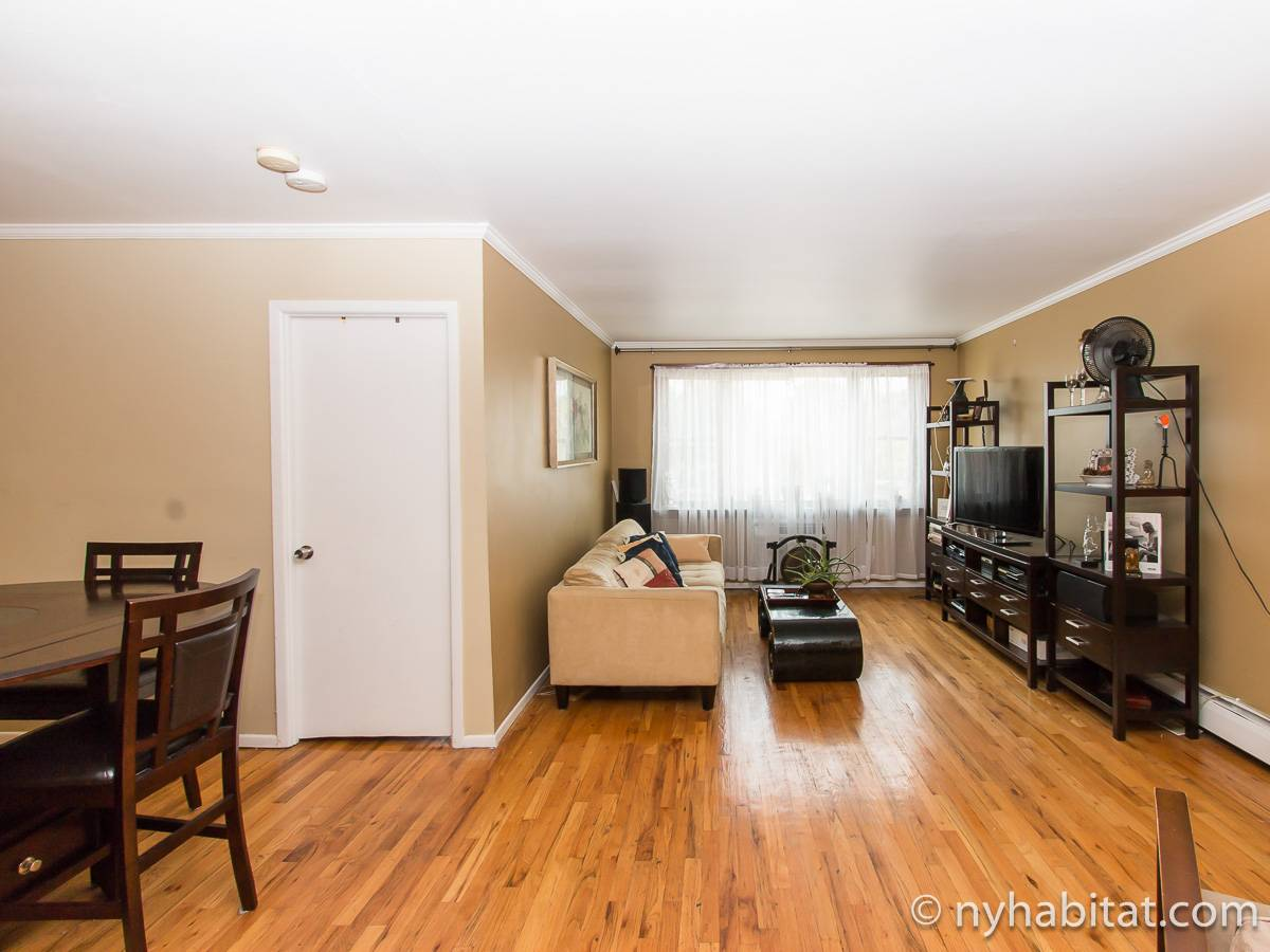 New York 2 Bedroom roommate share apartment - living room (NY-17277) photo 6 of 6
