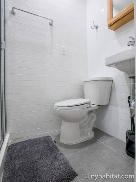 New York T5 appartement colocation - salle de bain 3 (NY-17289) photo 1 sur 2