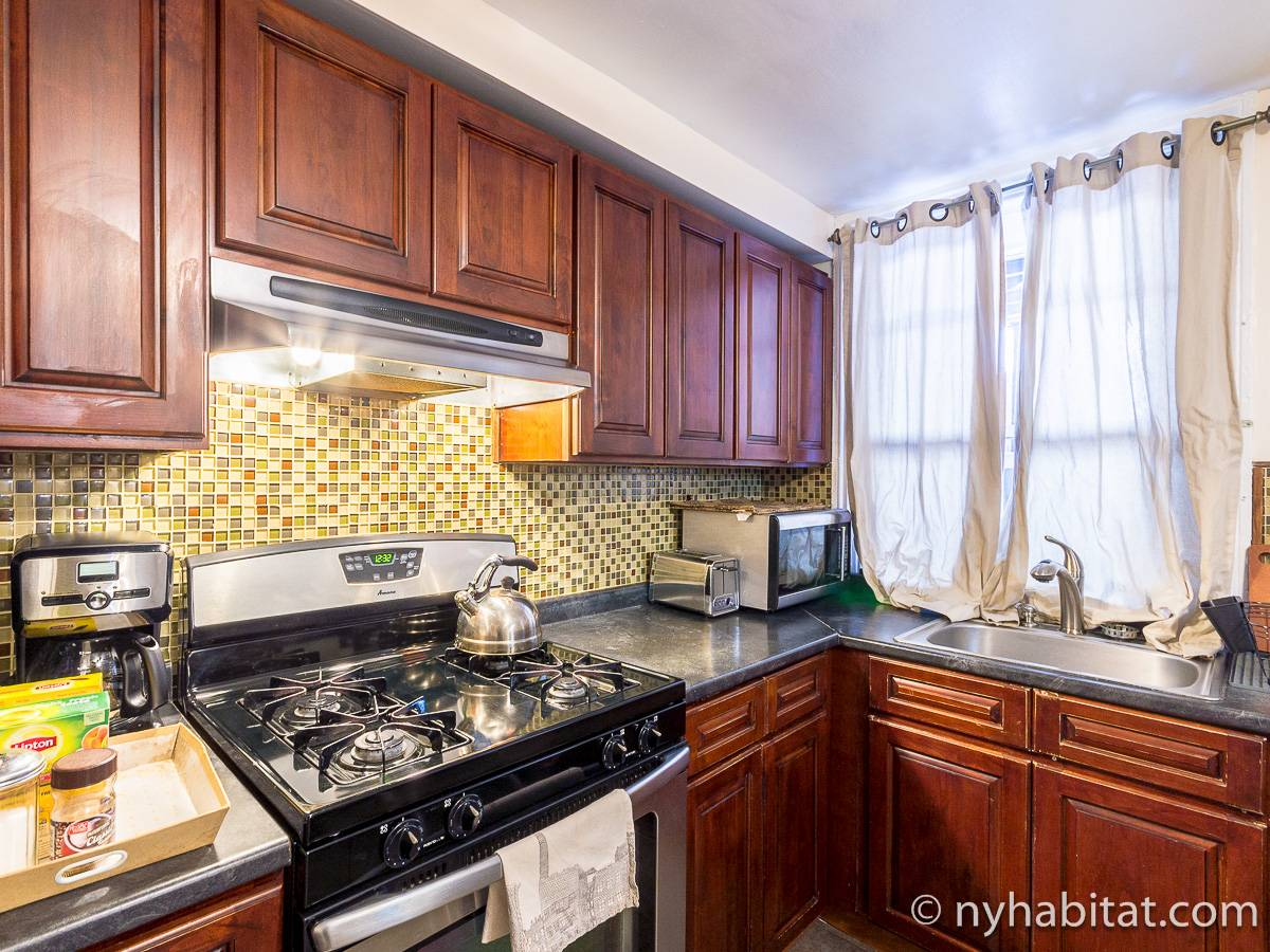 New York T3 appartement colocation - cuisine (NY-17305) photo 6 sur 8