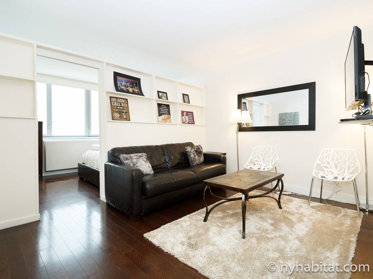 New York 2 Bedroom apartment - living room (NY-17383) photo 1 of 4