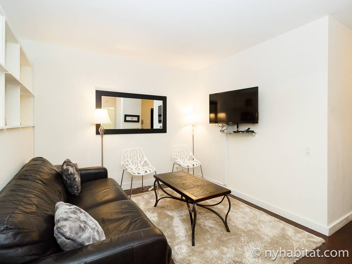 New York 2 Bedroom apartment - living room (NY-17383) photo 2 of 4