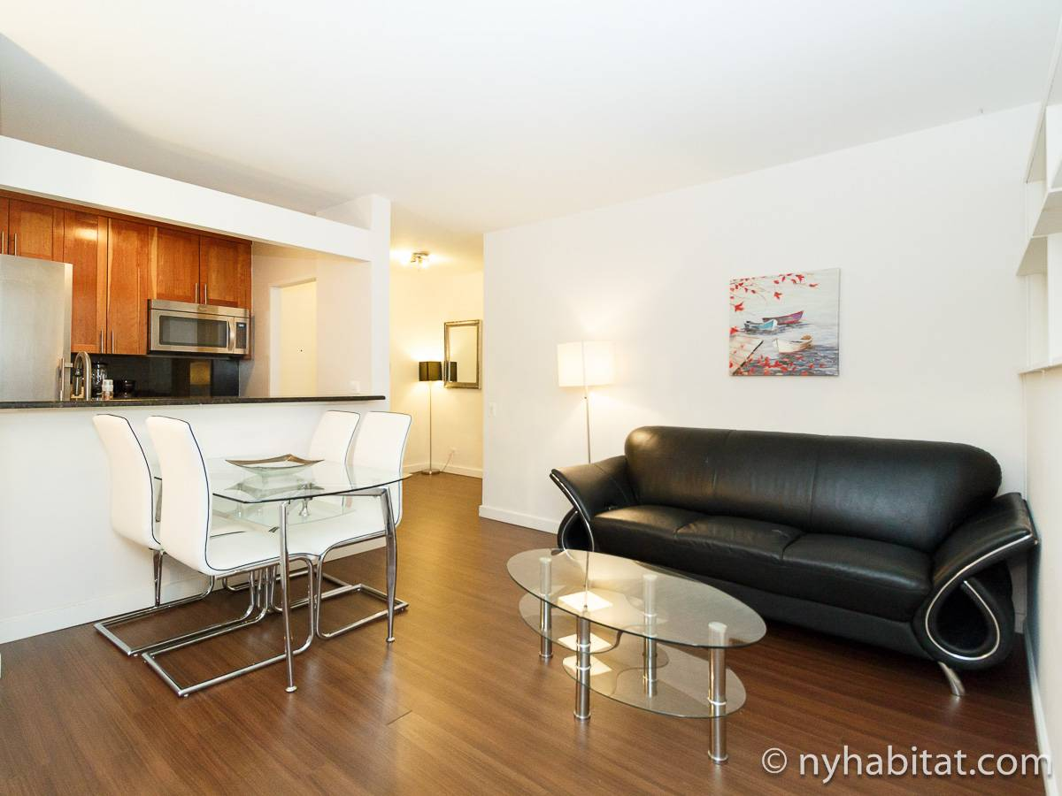 New York 2 Bedroom apartment - living room (NY-17384) photo 1 of 3