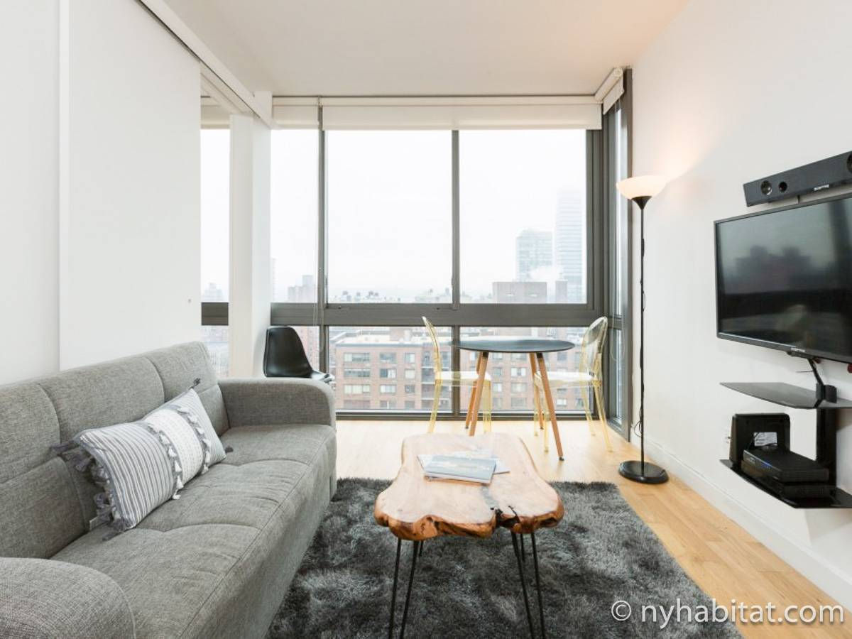 Studio Apartment Living. New York Alcove Studio apartment  living room 1 NY 17388 photo Apartment Rental in Upper West
