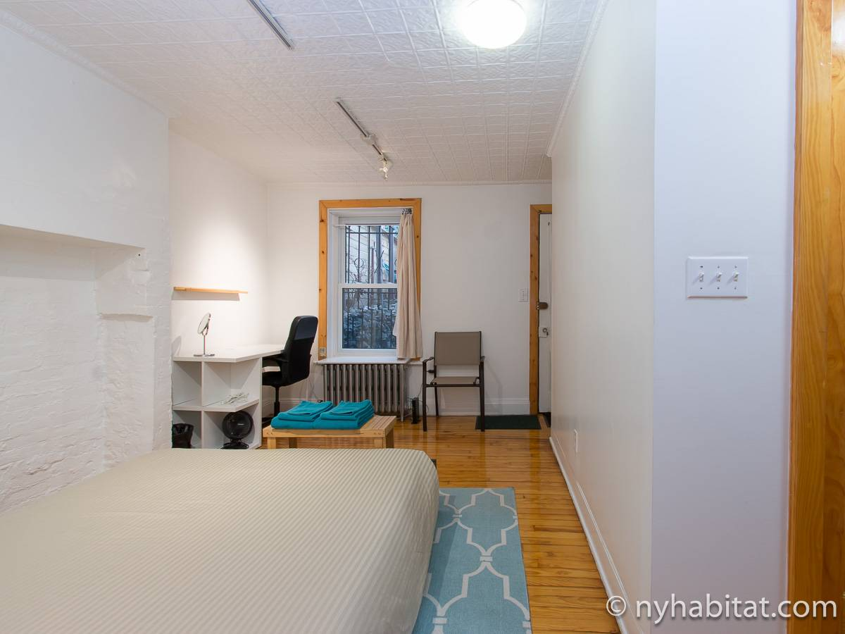 New York T2 appartement location vacances - chambre (NY-17399) photo 4 sur 6