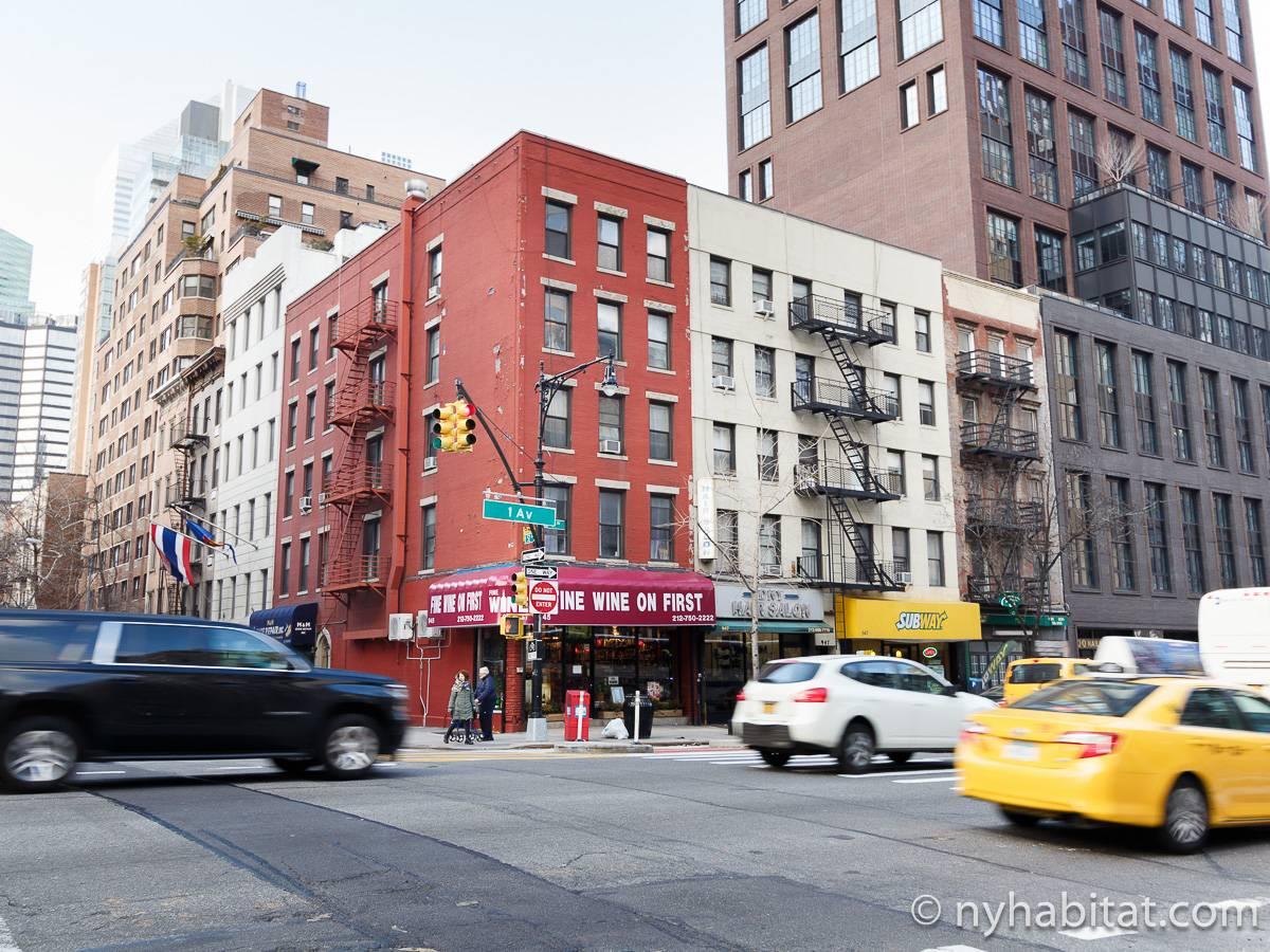 Appartamento a new york 1 camera da letto midtown east for Appartamenti midtown new york