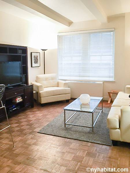 New York 1 Bedroom apartment - living room (NY-3353) photo 1 of 2